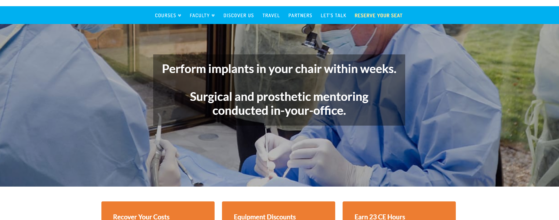 New Website Design Project for Dr. Kurt Kline of Implanting Mentors