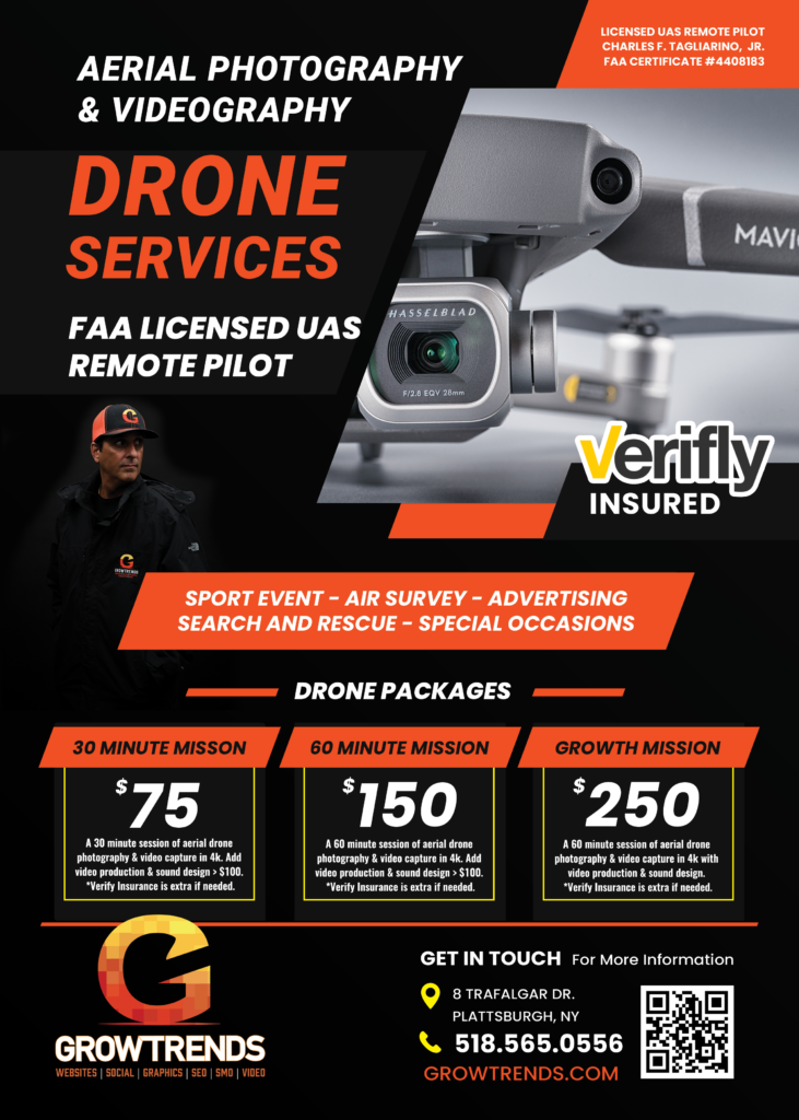aerial drone service pricing